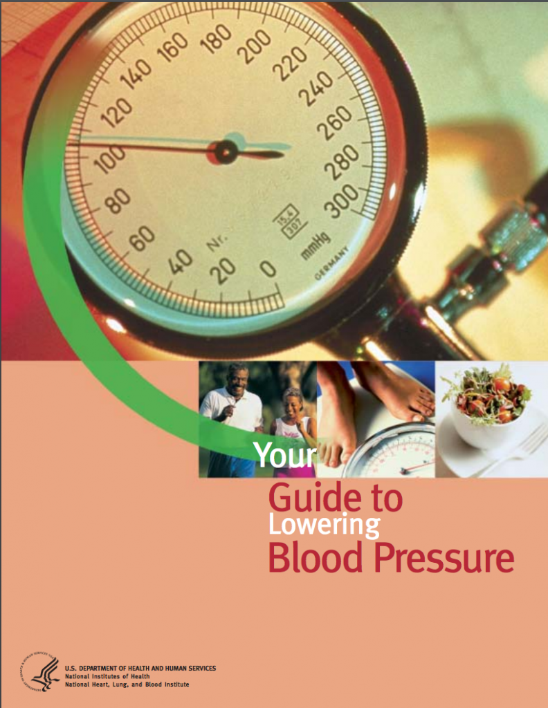 """Cover of """"Your Guide to Lowering Blood Pressure"""""""