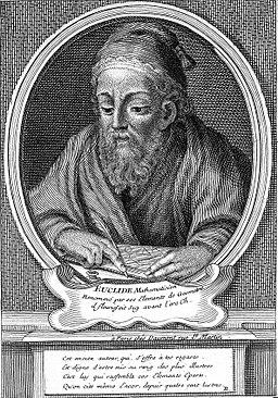 Portrait of Euclid Wellcome L0019815
