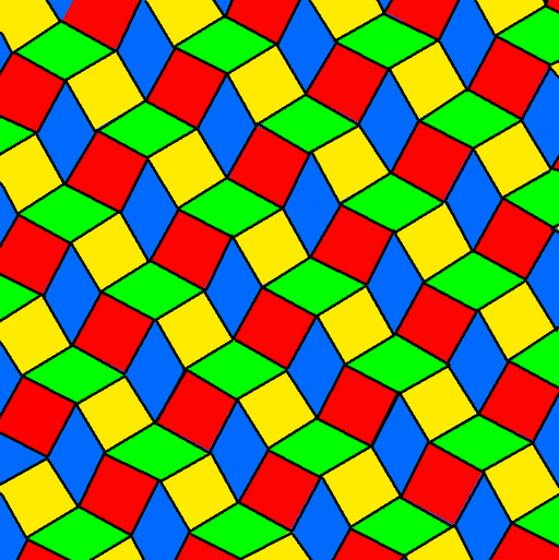 Snub square rhombic tiling 2